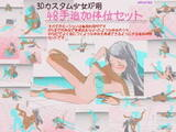 3Dカスタム少女48手追加体位セット