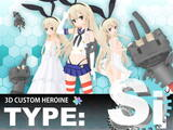 3D CUSTOM HEROINE TYPE Si