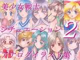 美少女戦士シチュエーションアナログイラスト集2