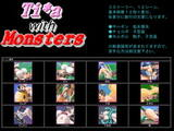 Ti*a with Monsters