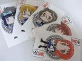 カード麻雀(名刺用プリンタ用紙でお手軽制作)
