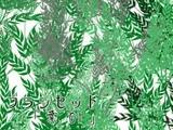 ブラシ素材「葉01」