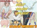 GIRLS' GOLDEN SPLASH!